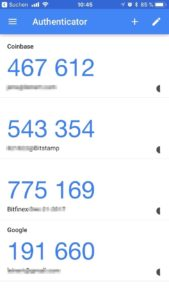 google authenticator TAN