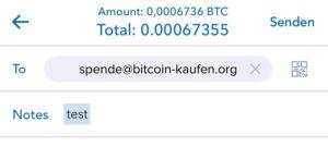 coinbase btc per email senden