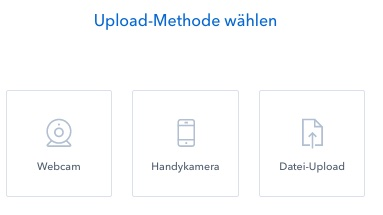 coinbase upload methode