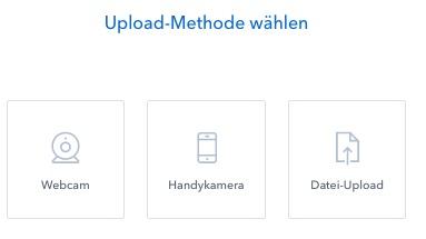 coinbase upload methode