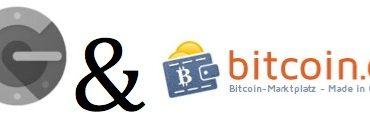 2FA Authentifizierung bei Bitcoin.de