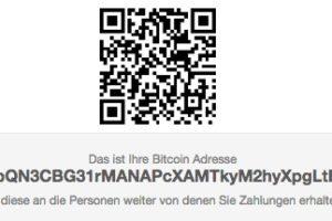 bitcoin adresse qr code