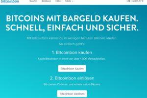 bitcoinbon homepage