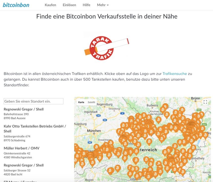 bitcoinbon verkaufstellen