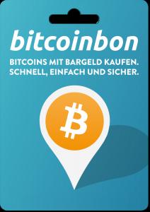 Bitcoinbon Bezahlkarte