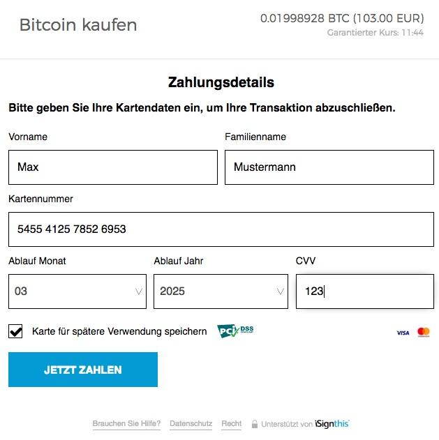 blockchain.com bitcoin kaufen per kreditkarte