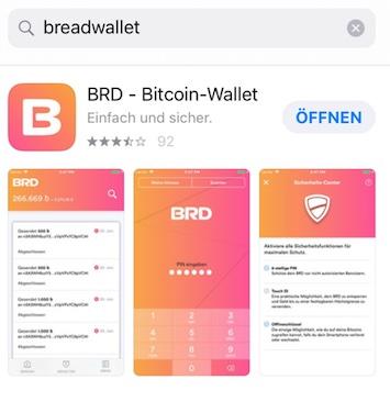 Aus Breadwallet wird BRD-Wallet