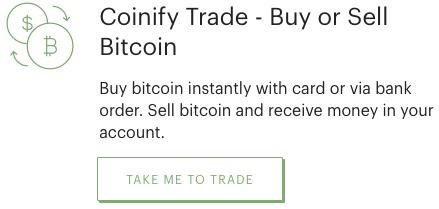 Coinify Trade