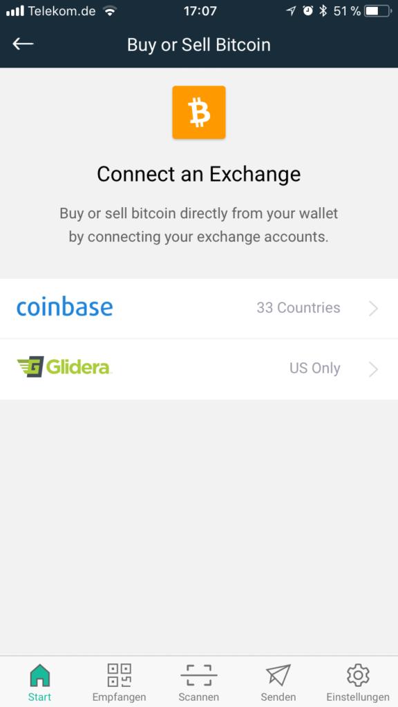 copay bitcoin börse