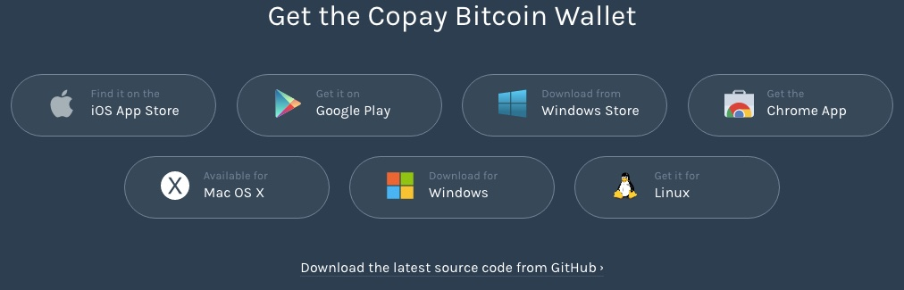 copay bitcoin wallets systeme