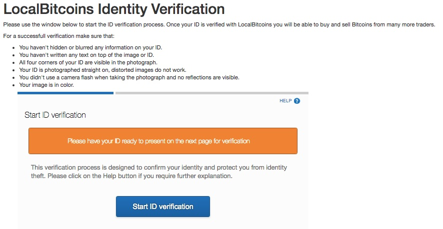 Localbitcoins verifizierung