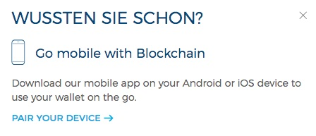 blockchain.info Mobile