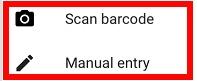 google authenticator scan barcode