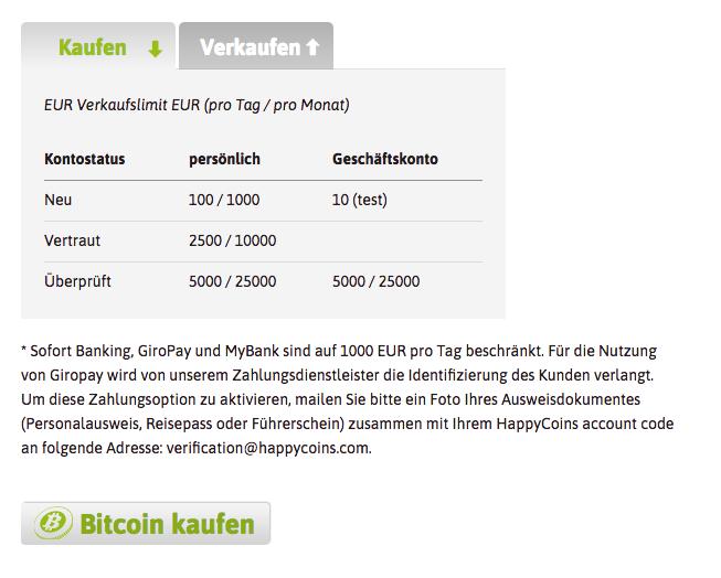 HappyCoins kaufen