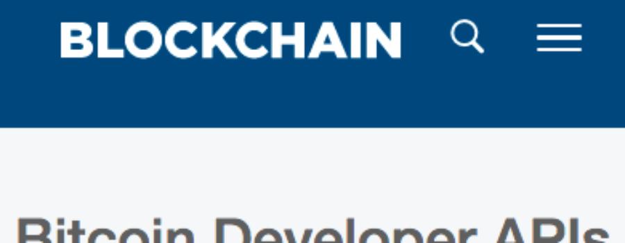 Blockchain API Logo