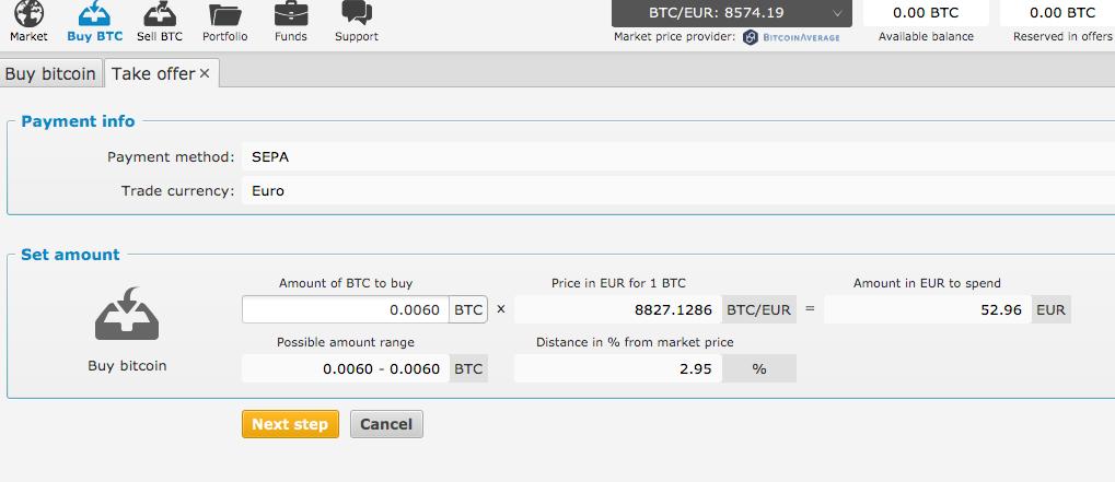 bisq bitcoin kaufen
