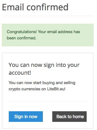 Litebit Registrierung
