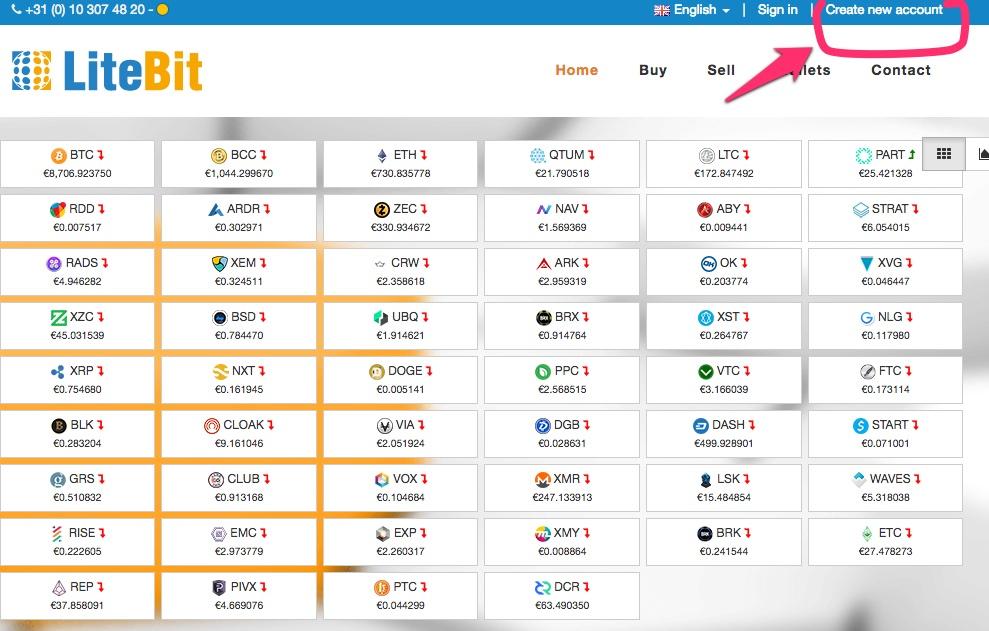 Litebit Homepage