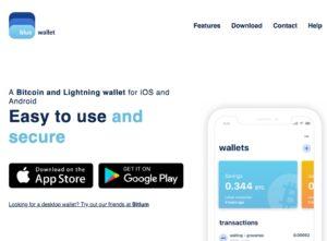 BlueWallet Homepage