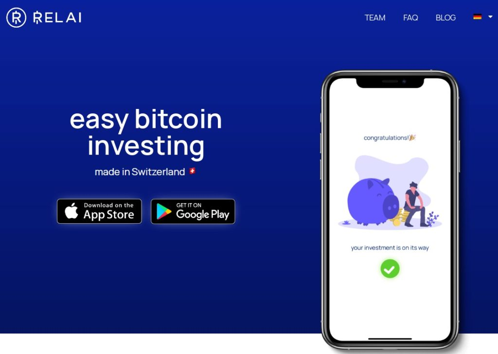 Relai Homepage